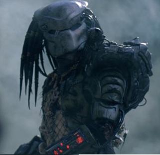Le Predator du film Predator.