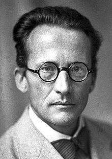 Portrait d'Erwin Schödinger