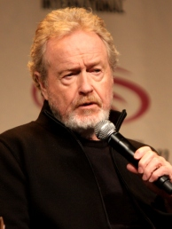 Ridley Scott, réalisateur de Blade Runner répondant à des questions.