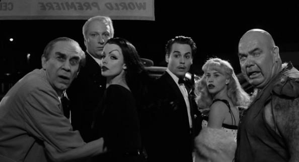 Ed Wood, Vampira, Bela Lugosi et associés