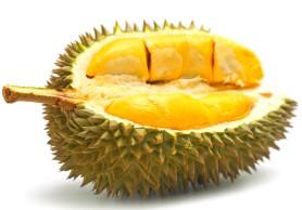 Un durian (fruit d'Asie du Sud-Est)