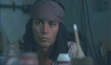 Johnny Depp dans The Brave.