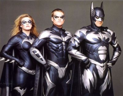 Batman, Robin et Batgirl