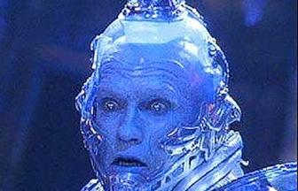 Mr Freeze étonné.