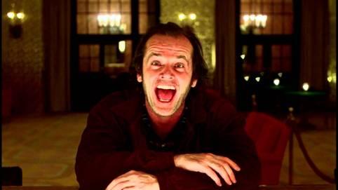 Jack Nicholson dans Shining