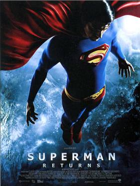 L'affiche de Superman Returns