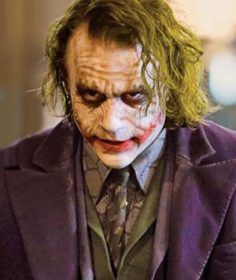 Heath Ledger en Joker