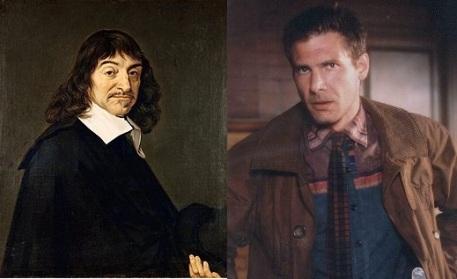 Descartes et Deckard, des noms comparables, des philosophies opposées.