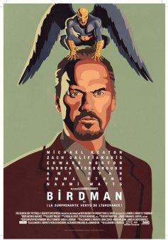 L'affiche de Birdman.