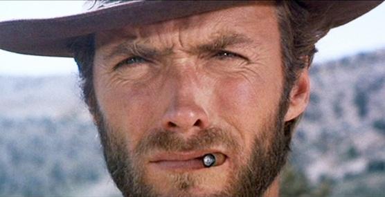 Clint Eastwood dans Le Bon, la Brute et le Truand.