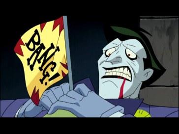 Joker (Batman) et son pistolet Bang!