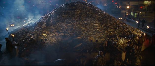 En tout cas, ça fait beaucoup de poisson, vous trouvez pas ?