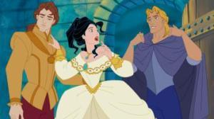 """""""Ah mince, John n°1, je t'avais promis un amour éternel, mais en fait John n°2 m'a rendue vénale. Oh, et pardon John n°2, je n'étais pas une princesse indienne vierge en fait, voilà mon ex. Oui, maintenant t'es mon ex."""""""