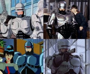 Les séries Robocop produites en 1988, 1994, la série Robocop Alpha Commando de 1998 et la série Robocop Prime Detective de 2001.
