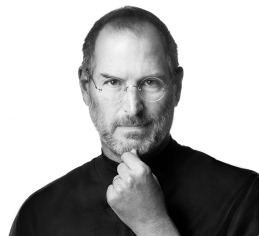 Un portrait de Steve Jobs