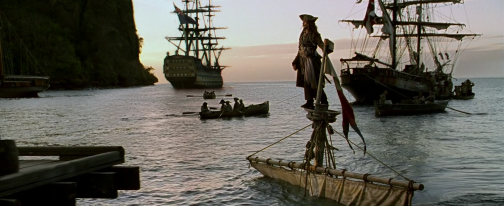 Et après le passage du bateau, le film sombre inexorablement.