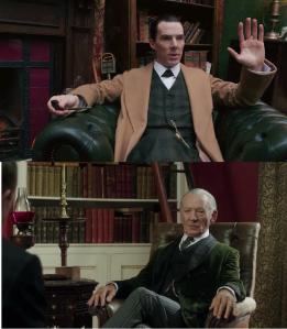 En plus du coup ça aurait créé une continuité avec Mr. Holmes. Dans ma tête. Mais ça aurait trop bien marché !