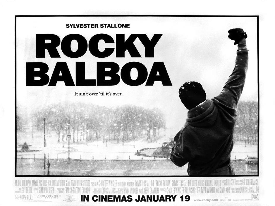 Affiche de Rocky Balbo, Sylvester Stallone, 2006