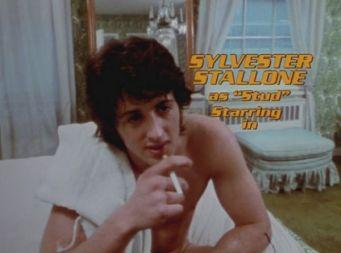 Sylvester Stallone dans le film érotique l'étalon italien