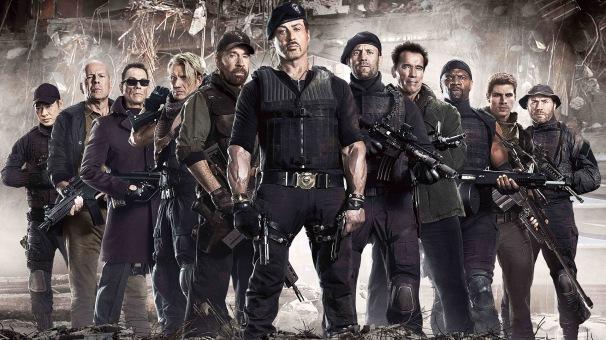 Le groupe de mercenaires d'Expendables 2