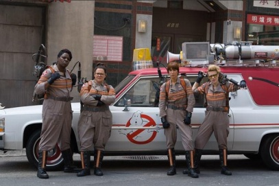 L'équipe de chasseuses de fantômes de Ghostbusters 3