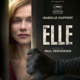L'affiche de Elle de Paul Verhoeven avec Isabelle Huppert