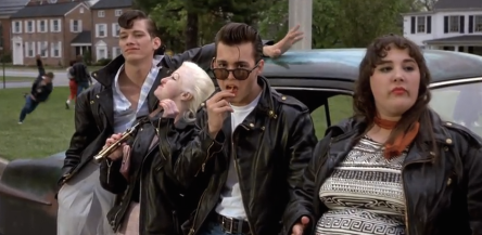 La bande de Johnny Depp dans Cry Baby