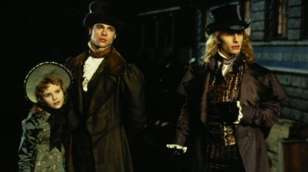 Tom Cruise, Brad Pitt et Kirsten Dunst dans Entretien avec un Vampire (1994)