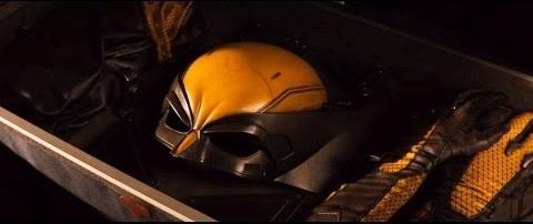 Le costume jaune de Wolverine révélé à la fin du film.