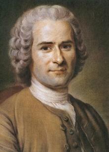 Jean Jacques Rousseau, auteur de la réflexion sur les biroches pour remplacer le pain.
