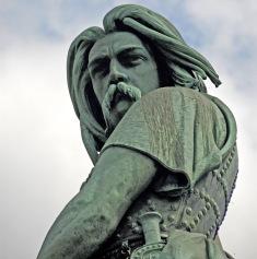 La célèbre statue de Vercingetorix à Alesia