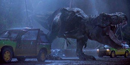 Le T-Rex du premier Jurassic Park