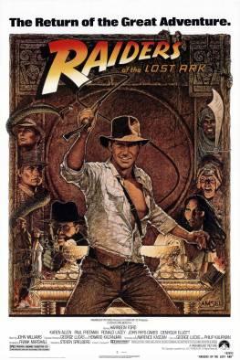 L'affiche du premier film Indiana Jones
