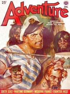 Une couverture de magazine pulp