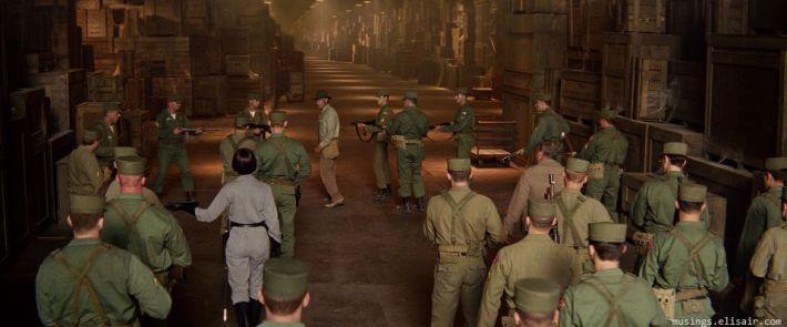 Le hangar en images de synthèses de la zone 51