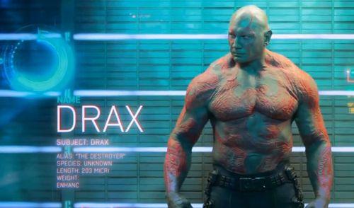 Mais non, pas ce Drax.
