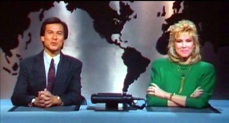 Le duo de présentateurs TV de Robocop (1987)