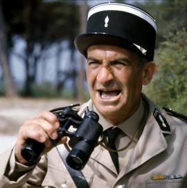 Louis de Funès dans le Gendarme de Saint-Tropez