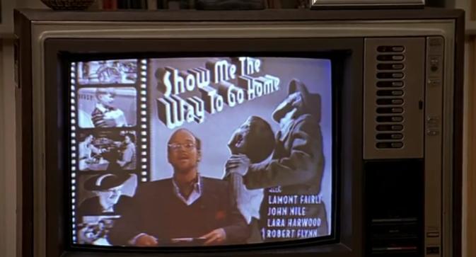 """""""Show me the way to go home"""", l'un des programmes TV préférés de Truman."""