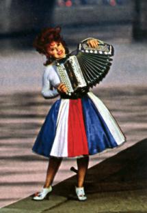Yvette Horner et son accordéon