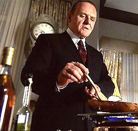 Anthony Hopkins dans son rôle d'Hannibal Lecter