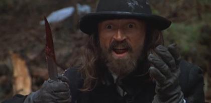 Robert Carlyle jouant le méchant dans Vorace