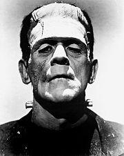 La créature de Frankenstein incarnée par Boris Karloff