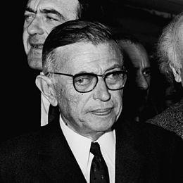 """Jean-Paul Sartre, auteur de la célèbre maxime """"l'enfer c'est les autres"""""""