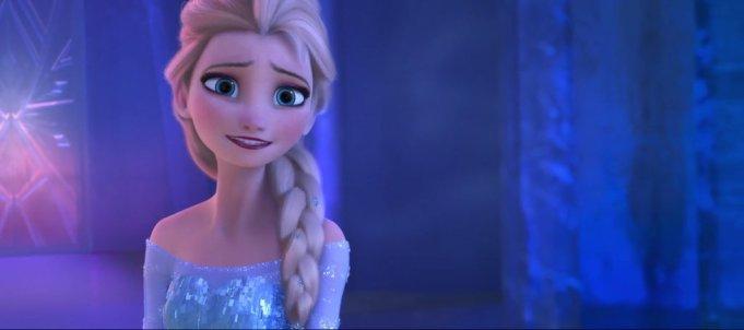 Elsa, personnage central de la Reine ds Neiges