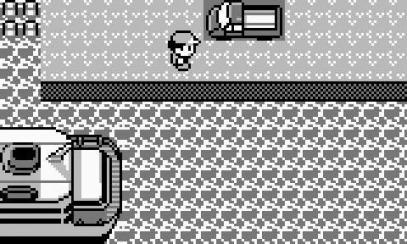 Image du camion dans Pokemon Rouge et Bleu