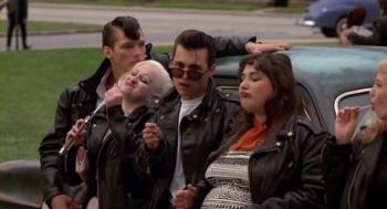 La fine équipe de Johnny Depp dans Cry Baby