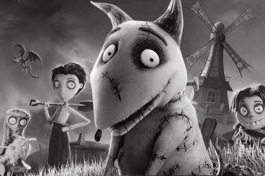 Le chien zombie du film Frankenweenie