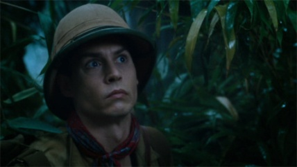 Willy Wonka explorant une jungle à la recherche de nouvelles idées.