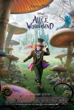 Poster d'Alice au pays des merveilles (2010)